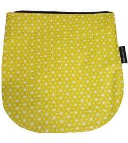 Rabat jaune pour sac à rabat amovible