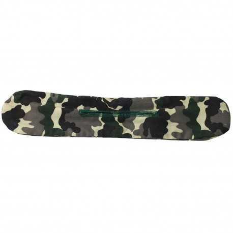 Chignon magique militaire motif camouflage