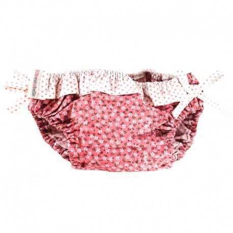 Maillot de bain 1 pièce liberty rose pâle