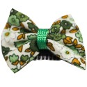 Barrette anti glisse liberty vert et marron