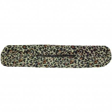 Chignon magique léopard