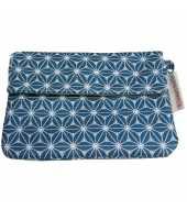 Petit porte-monnaie bleu étoile