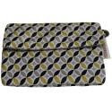 Porte-monnaie jaune et noir