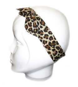 Bandeau magique léopard