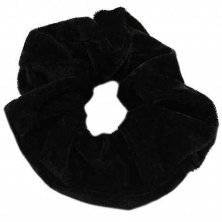 Chouchou en velours noir