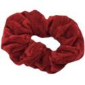 Chouchou en velours rouge