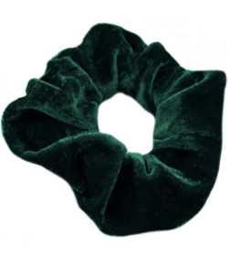 Chouchou en velours vert