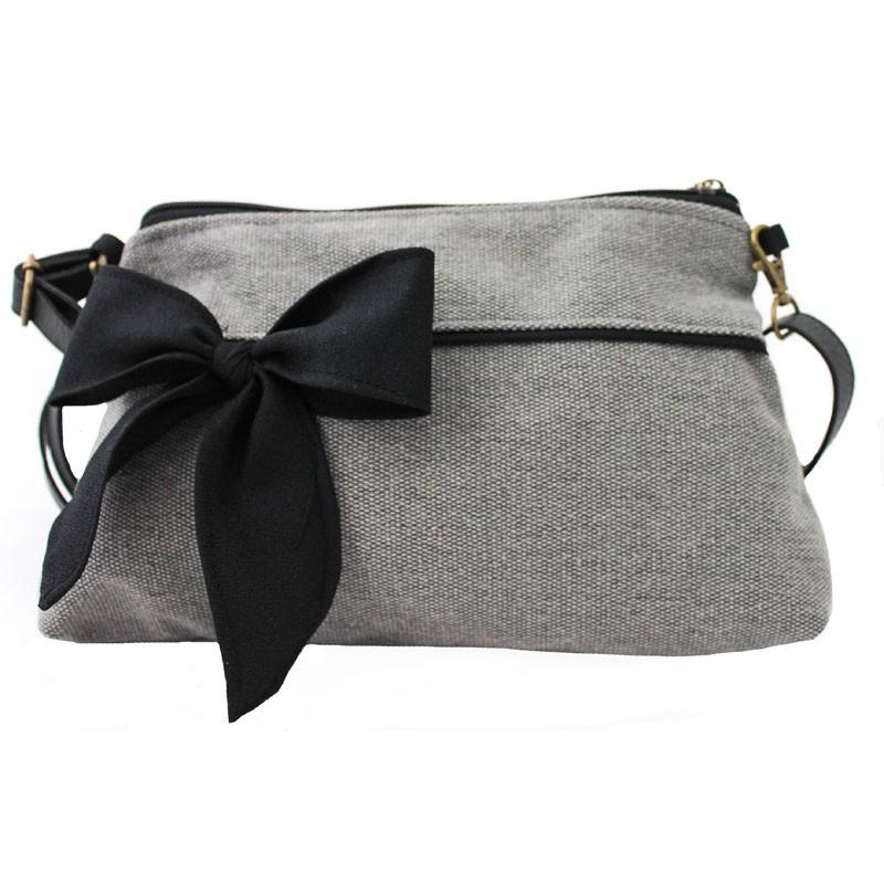 sac besace femme tissu. Black Bedroom Furniture Sets. Home Design Ideas