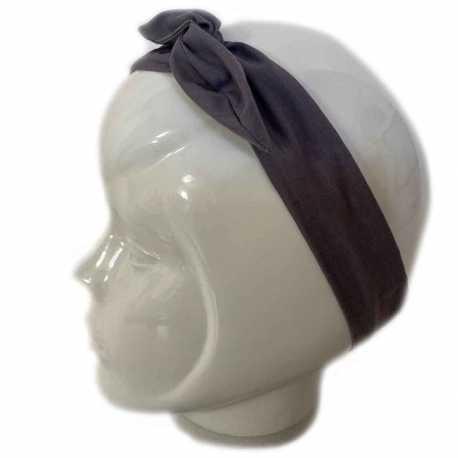 Bandeau cheveux gris