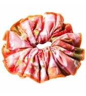 Chouchou orange et rose
