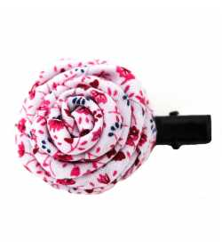 Barrette originale rose liberty blanc rouge bleu