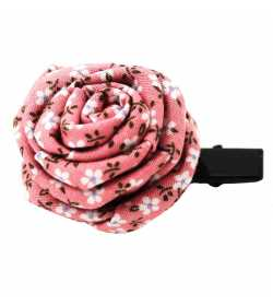 Barrette originale rose liberty rose pâle