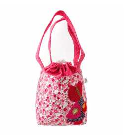 Sac fillette liberty rose motif fille