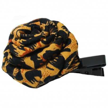 Barrette cheveux léopard
