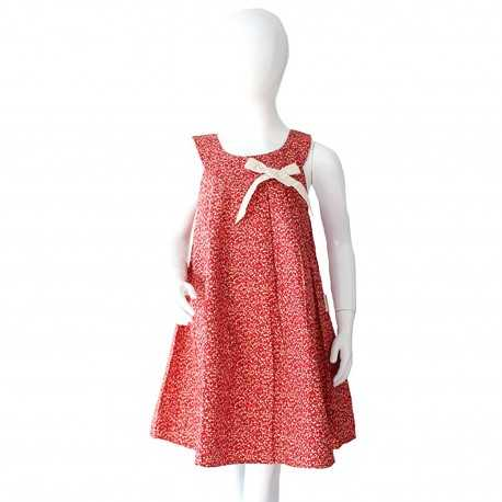 Robe Chloé liberty rouge