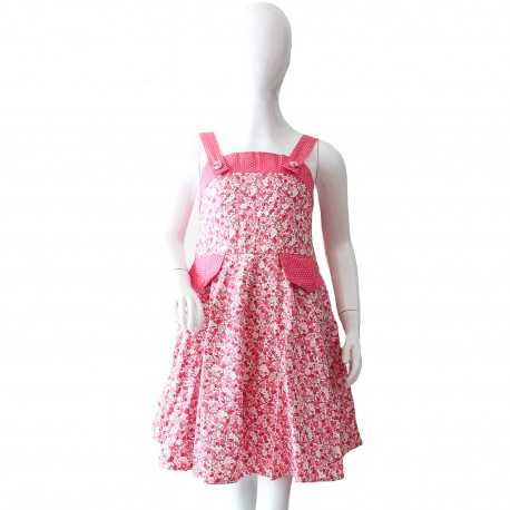 Robe Valentine liberty rose