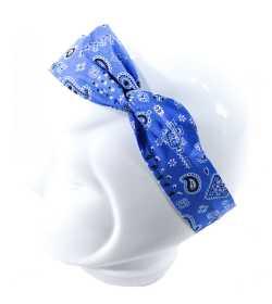 Bandeau magique bandana bleu