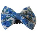 Barrette anti glisse liberty bleu