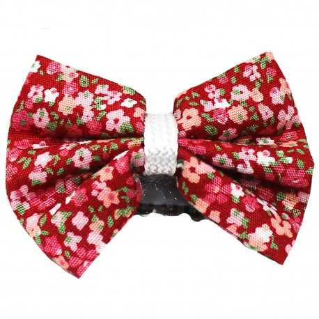 Barrette anti glisse liberty rouge