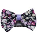 Barrette anti glisse liberty mauve