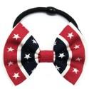 Chouchou noeud motif texan
