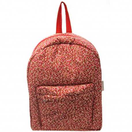 Sac à dos fille liberty rouge
