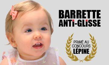 barrette anti glisse bébé