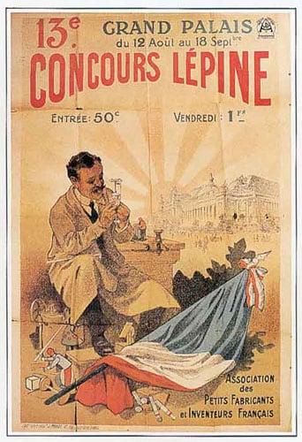 Affiche Concours Lépine 1910