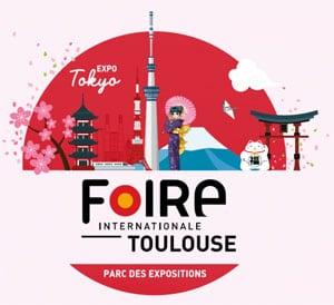Exposition Tokyo à la Foire de Toulouse 2019