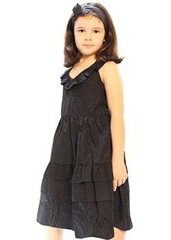 robe noire fille