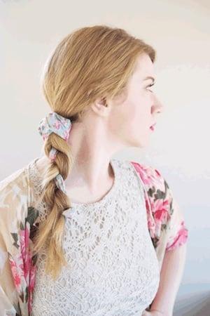 Idée coiffure tresse