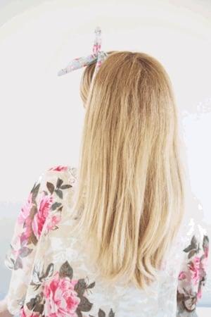 Idée coiffure vintage