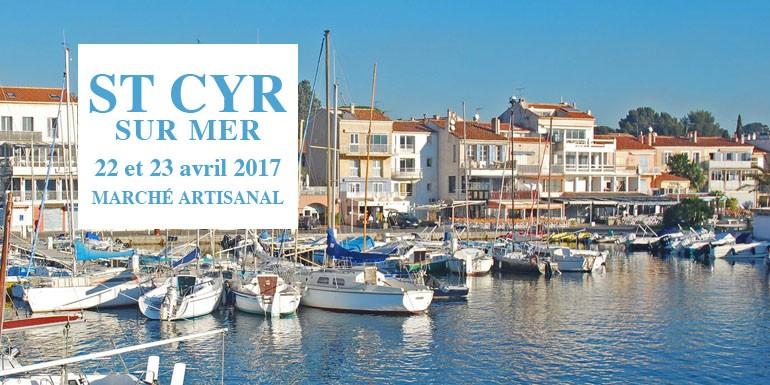 March artisanal de st cyr sur mer 22 et 23 avril 2017 - Agence du vieux port saint cyr sur mer ...