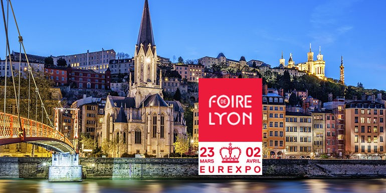 invitation gratuite la foire de lyon 2018. Black Bedroom Furniture Sets. Home Design Ideas